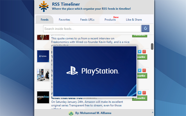 RSS TimeLiner preview image