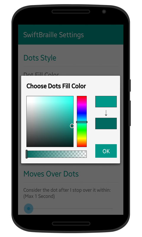 SwiftBraille Color Picker